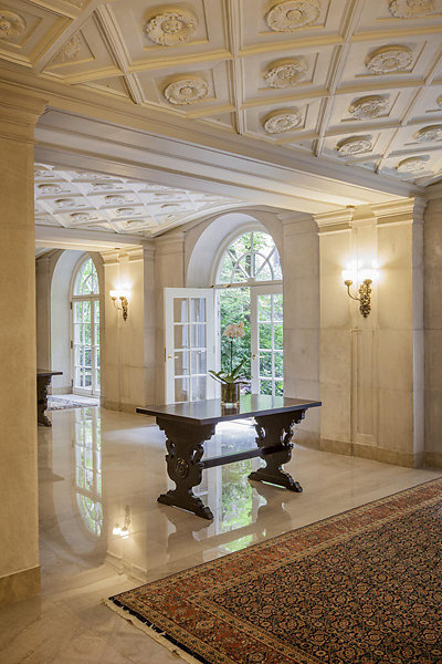 Astor Court Lobbies Restoration