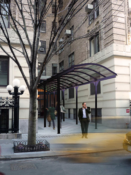 New Canopy & Entrance For Landmark Building