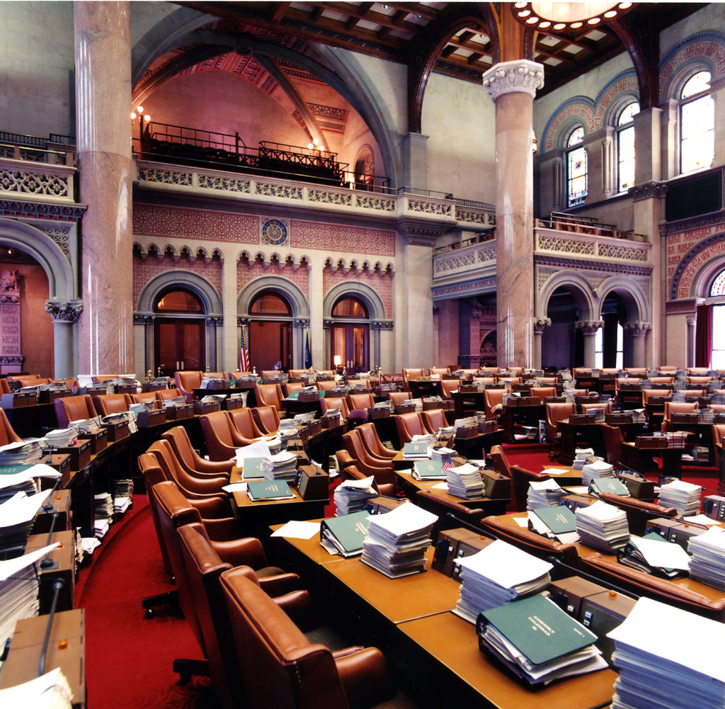 New York State Capitol<br>New York State Assembly Restoration & Rehabilitation Phase 2: Public Galleries